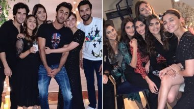 Ranbir Kapoor, Alia Bhatt, Vaani Kapoor, Krystle D'Souza and Others Attend Akansha Ranjan Kapoor's Birthday Bash (View Party Pics)