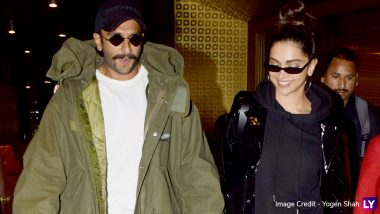 Ranveer Singh and Deepika Padukone Are All Smiles as They Arrive Back in Mumbai! View Pics