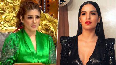 Nach Baliye 9: After Madhurima Tuli and Vishal Aditya's Fight, Natasha Stankovic's Behaviour Leaves Raveena Tandon Furious (Watch Video)