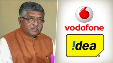 Ravi Shankar Prasad Rejects Vodafone-Idea's Request to Intervene to Raise Tariffs in Telecom Sector, Says 'Set Your House in Order to Take on Competition'