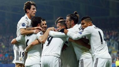 Real Madrid vs Granada, La Liga 2019 Free Live Streaming Online & Match Time in IST: How to Get Live Telecast on TV & Football Score Updates in India?