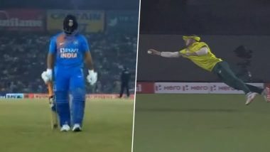 Rishabh Pant Gets Trolled for Poor Show, David Miller Earns Praises for Stunning Catch to Dismiss Shikhar Dhawan during IND vs SA 2nd T20I 2019