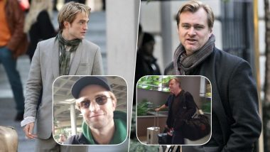 Tenet: Christopher Nolan and Robert Pattinson Arrive In Mumbai! View Pics Inside