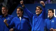 Laver Cup 2019 Live Streaming Online in India: Watch Free Telecast Team Europe's Roger Federer, Rafael Nadal and Others Compete Against Team World on Amazon Prime