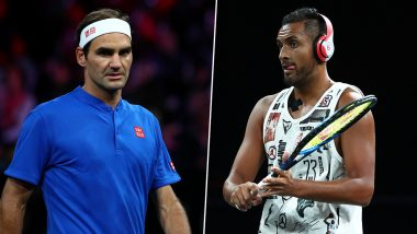 Roger Federer vs Nick Kyrgios, Laver Cup 2019 Live Streaming Online: How to Watch Free Live Telecast of Team Europe vs Team World Singles Tennis Match in India?