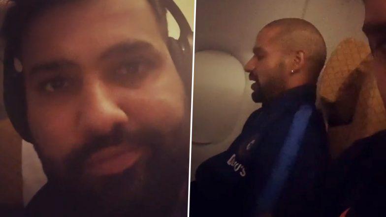 Shikhar Dhawan Talks to Himself? Rohit Sharma Secretly Records His Batting Partner's Bizarre Habit, Dhawan Clarifies What He Was Doing (Watch Video)