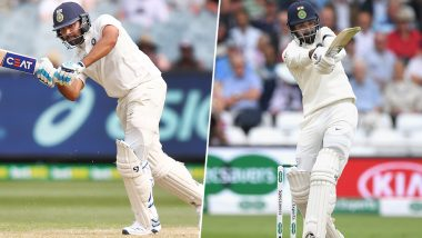 Rohit Sharma to Replace KL Rahul As Indian Test Opener? Chief Selector MSK Prasad Hints at Major Changes in Top-Batting Order