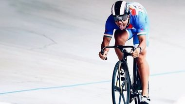 India's Ronaldo Laitonjam Sets Junior Asian Cycling Record at the Track Asia Cup Cycling Competition 2019
