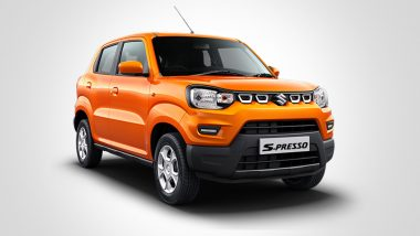 Maruti Suzuki S-Presso Launched in India; Check Prices of Mini SUV