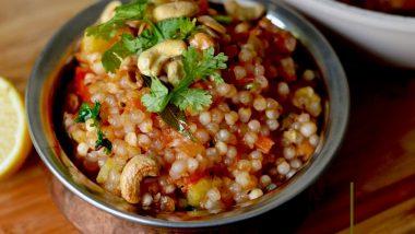Quick Sabudana Recipes for Navratri 2019 Fast: Observe Sharad Navaratri Vrat With Healthy Tapioca Sago Recipes That Are Filling and Easy to Make!