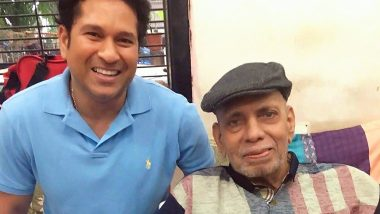 Sachin Tendulkar Pays Tribute to Late Coach Ramakant Achrekar on Teachers' Day 2019, Shares Heart-Warming Post on Twitter (See Tweet)