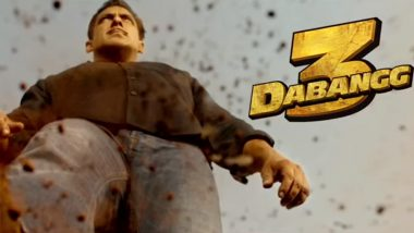 Dabangg 3 Motion Poster: Salman Khan aka Chulbul Pandey's Swag Is Impressive, Team Starts the Countdown Using #100DaysToDabangg3 (Watch Video)