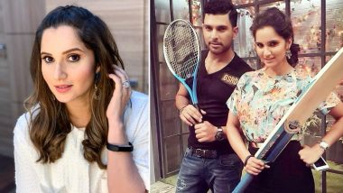 Sania Mirza Trolls Yuvraj Singh on 'Chikna Chamela' Look, Says 'Bring the Beard Back'