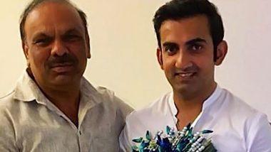 Gautam Gambhir Shares Heartening Post for Former Coach Sanjay Bhardwaj on the Occasion of Teachers' Day 2019 (Check Instagram Post)