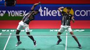 Satwik Sairaj Rankireddy and Chirag Shetty at Tokyo Olympics 2020, Badminton Live Streaming Online: Know TV Channel & Telecast Details for Men's Doubles Group Play Stage Qualification Coverage