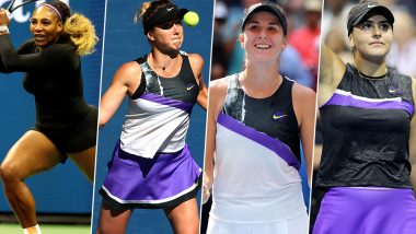 US Open 2019 Women's Semi-Final Lineup: Serena Williams vs Elina Svitolina and Belinda Bencic vs Bianca Andreescu Tennis Matches To Watch Out For at Flushing Meadows