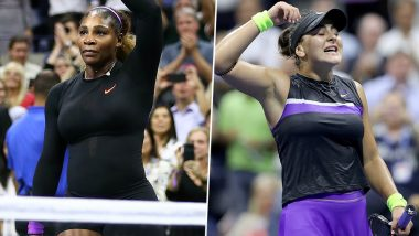 US Open 2019 Women's Final: Watch Out For Serena Williams vs Bianca Andreescu Tennis Match at Flushing Meadows