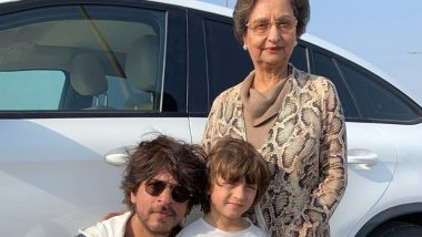 Shah Rukh Khan's Pic With AbRam Khan and His Mom-In-Law Is So Cute!