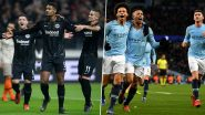 Shakhtar Donetsk vs Manchester City, UEFA Champions League Live Streaming Online: Where to Watch CL 2019–20 Group Stage Match Live Telecast on TV & Free Football Score Updates in Indian Time?