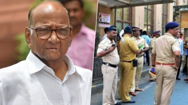 Mumbai Police Imposes Section 144 in Ballard Pier as Sharad Pawar Likely to Visit ED Office