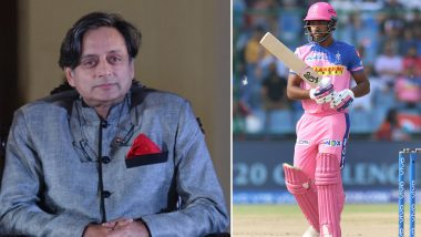 Shashi Tharoor Praises Sanju Samson for Donating His Match Fees to Groundsmen of Thiruvananthapuram Stadium, Says 'Samson's Spirit Is What Sets Him Apart'