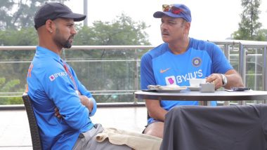 Here's How Ravi Shastri and Shikhar Dhawan Spent Their Morning Ahead of the First T20I Between India and South Africa!
