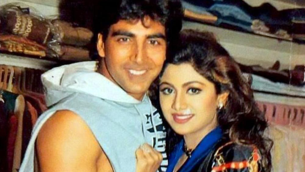 Shilpa Shetty Kundra and Akshay Kumar