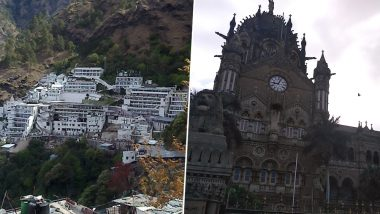 Shri Mata Vaishno Devi Shrine, CSMT Railway Station Among Best Swachh Iconic Places Declared by Ministry of Jal Shakti