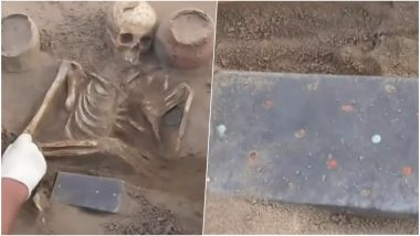 2000-Year-Old iPhone? Archaeologists Find Woman's Skeleton With Apple Smartphone-like Object in Russian Excavation (Watch Video)