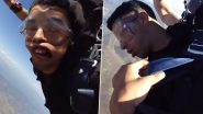 Tired of Paragliding 'Land Kara De Bhai' Video? New Video of US Marine Fainting Thrice While Skydiving Goes Viral