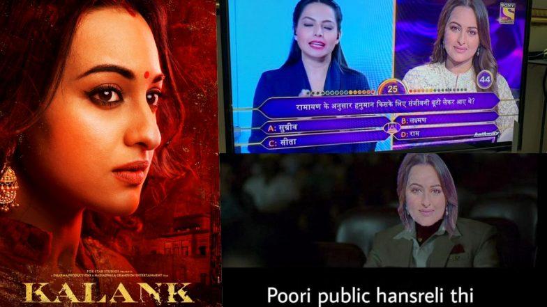 Sonakshi Sinha's KBC 11 Funny Memes Are 'Asli Sona' After She Fails to Answer 'For Whom Hanuman Got Sanjeevani Buti' on Amitabh Bachchan's Show
