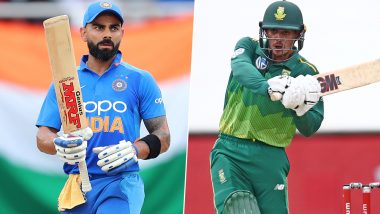 India vs South Africa 2019 Schedule for Free PDF Download Online: Full Timetable of IND vs SA Fixtures With Match Timings and Venue Details