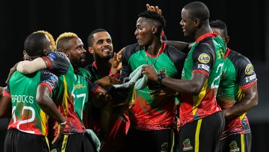 CPL 2019: St Kitts and Nevis Patriots Register Thrilling One-Run Victory Over Barbados Tridents to Book Playoffs Spot