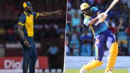St Lucia Zouks vs Barbados Tridents CPL 2019 Match LIVE Cricket Streaming on Star Sports and Hotstar: Live Score, Watch Free Telecast on TV & Online