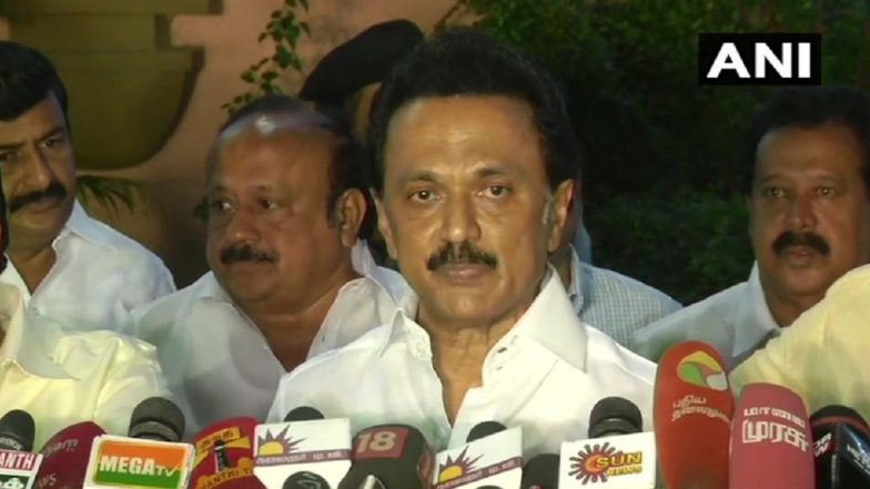 Narendra Modi-Xi Jinping Summit: MK Stalin Wishes Positive Impact of Upcoming Indo-China Summit in Mamallapuram