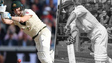 Steve Smith Eyes Sir Don Bradman's Record As He Gets Closer to Smashing Most Runs in a Single Ashes Series During England vs Australia 5th Test