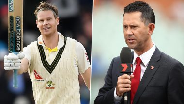 Ricky Ponting Calls Steve Smith 'Genuis' for His Double Ton in the 4th Ashes 2019 Test