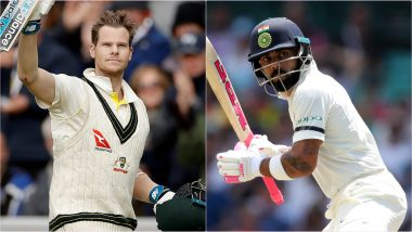 Latest ICC Test Player Rankings 2019: Virat Kohli Inches Closer to No.1 Batsman Steve Smith, Mayank Agarwal Enters Top 10 List