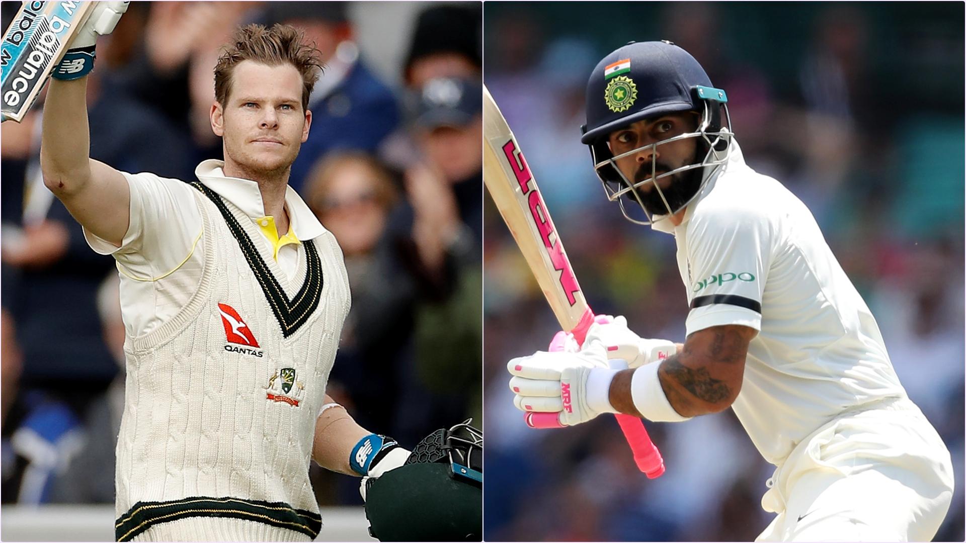 Latest ICC Test Player Rankings 2019: Virat Kohli Inches Closer to No.1 Batsman Steve Smith, Mayank Agarwal Enters Top 10 List