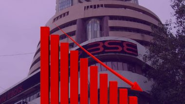 Stock Market Continues Sharp Fall Amid Economic Crisis and Declining GDP Rate; Sensex Closes 769 Points Down at 36,562, Nifty Crashes 247 Points