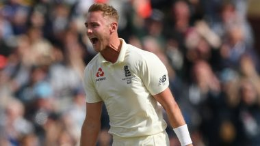 Stuart Broad Becomes Second Bowler to Claim 400 Test Wickets In This Decade, Achieves Feat During South Africa vs England 1st Test 2019