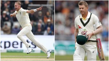 David Warner Becomes Stuart's Bunny: ICC Leads the Troll Pack As Broad Gets Australian Opener For Fifth Time in Ashes 2019
