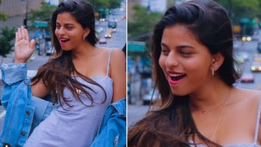 Suhana Khan's Latest Photo From NYC Has the Right Amount of Expression and Glam!