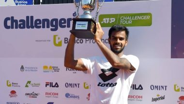 Sumit Nagal Achieves Career-Best ATP Ranking of 135 After Winning Buenos Aires ATP Challenger 2019 Title