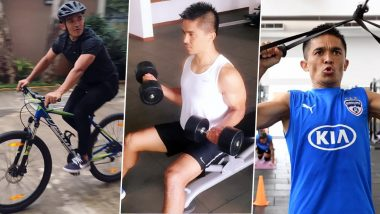 Sunil Chhetri Workout & Diet: Here's The Fitness Secret of Indian Football Team Captain (Watch Videos)