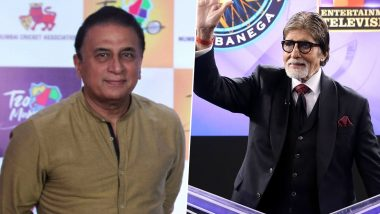 Sunil Gavaskar Imitates Amitabh Bacchan from KBC, Refers to Answer of 'India's No 4 Batting Position' As 'Crorepati' Question during IND vs SA 3rd T20I Match