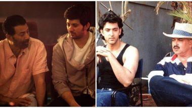Sunny Deol and Karan Deol in Pal Pal Dil Ke Paas, Rakesh Roshan and Hrithik Roshan in Kaho Na Pyaar Hai – 5 Times When Actors Directed Their Son's Debut