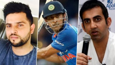 Gautam Gambhir, Suresh Raina and Other Members of Cricket Fraternity Differ Over Their Opinions On MS Dhoni's Future