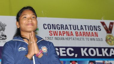 Indian heptathlete Swapna Barman gears up for 2020 Tokyo Olympics