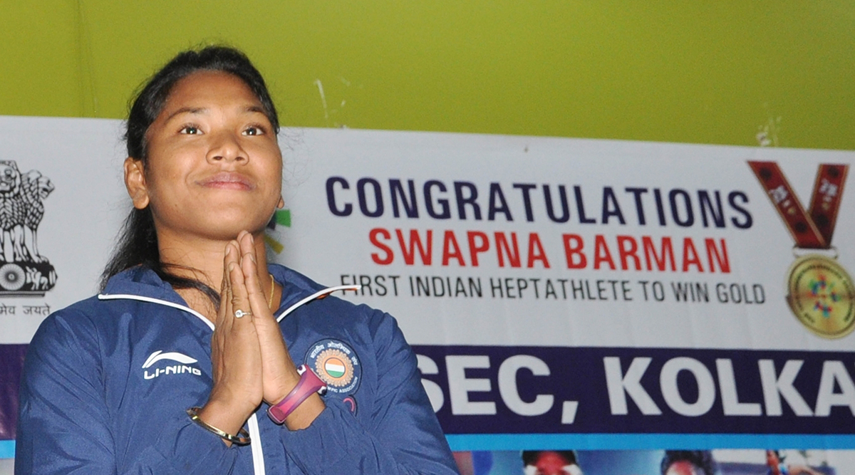 Indian heptathlete Swapna Barman gears up for 2020 Tokyo Olympics